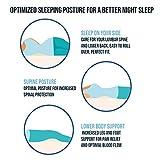 Cooling Gel Lumbar Pillow for Sleeping Memory Foam