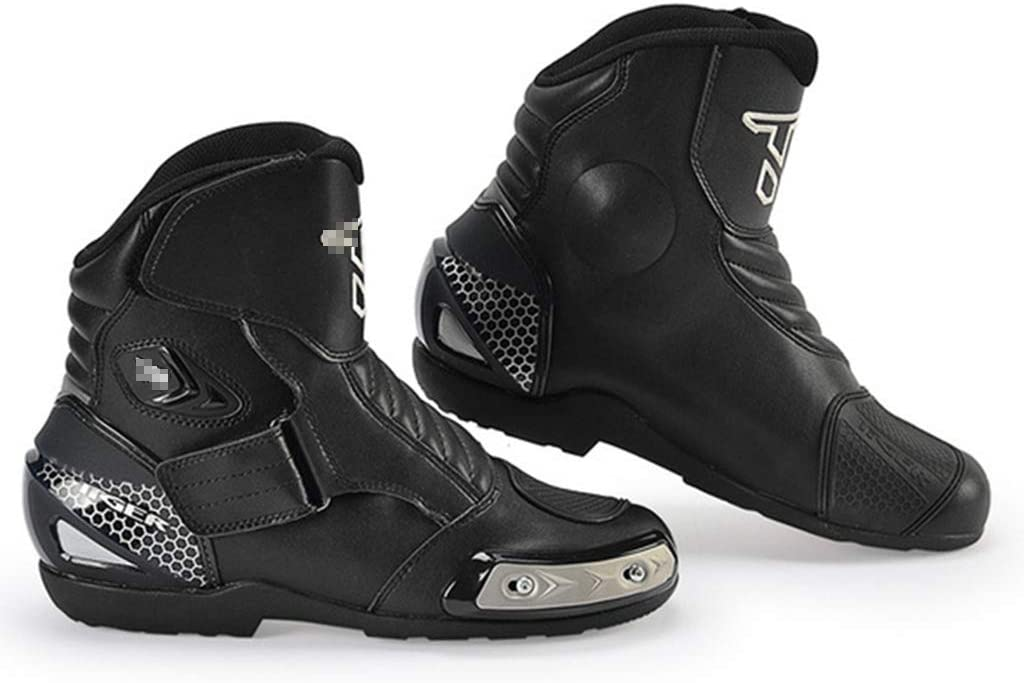 Wert Motorradstiefel Herren Sport Rüstung Schutz Motocross On Road Stiefel Antirutsch Short Ankle Boots Gepanzerte Motorrad Schuhe Sport Freizeit