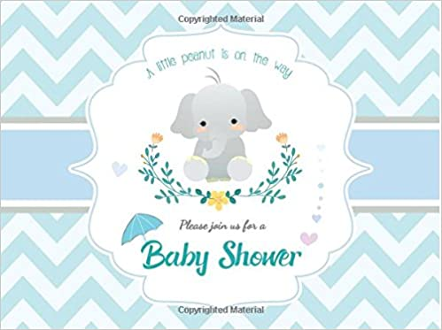 Baby Shower Guest Book Message Book Sign In Keepsake Memory