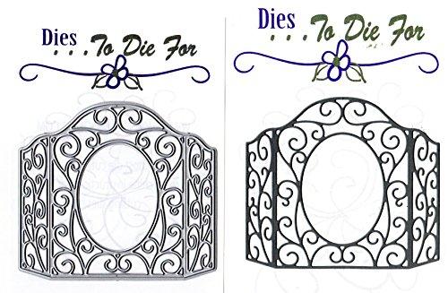 Dies ... to die for metal craft cutting die - Flourish Window Frame by ... To die for