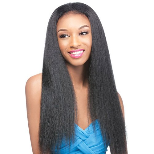 Outre Synthetic Hair Half Wig Quick Weave Annie, 1B ()