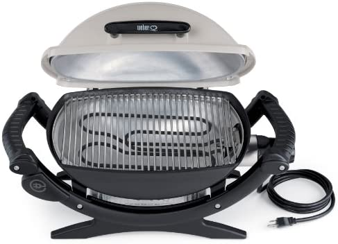 Weber Elektrogrill Q 1400 Vs 2400 : Amazon weber q electric barbeque grill garden
