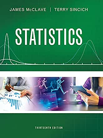 Statistics 13, James T. McClave, Terry T. Sincich - Amazon.com
