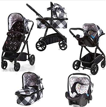 Cosatto Wow - Cochecito y silla de paseo con asiento de coche y protector de lluvia en Mademoiselle: Amazon.es: Bebé