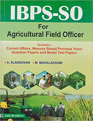 Buy IBPS-SO for Agricultural Field Officer Book Online at Low Prices