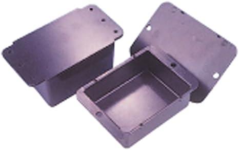 Other Caja de plástico ABS con base negra 33 x 25 x 10 mm: Amazon ...