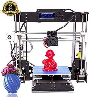 Impresora 3D, ColorFish A8 DIY Impresora 3D Kits Actualización de ...