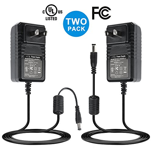 Nexlux DC 12V 2A Power Adapter, [Two Pack] AC 100-240V to DC 12V 2A Transformers 24W Power Supply for 16.4ft 12V LED Strip Lights CCTV Camera LED Modules by Nexlux (Image #6)
