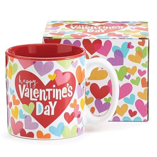Burton and Burton Love Hearts Valentine Mug, 13 ounce