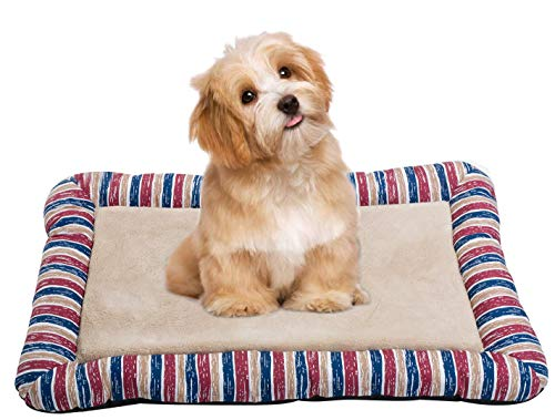 Junolla Pet Dog Bed Cat Bed Comfortable Animal Bed for Pet Cat and Dog, Machine Washable, for Home, Car, Outdoors ()