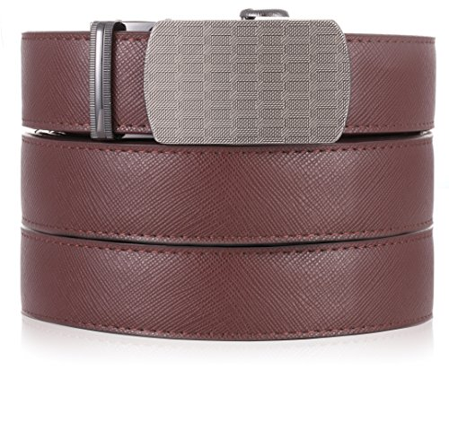 Marino Ratchet Leather Dress Belt