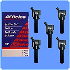 dtc p0351 ignition coil a primary secondary circuit malfunction new acdelco bs c1558 performance ignition coil set of 5