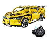 CR Build Your Own 2.4GHz Full Functional Remote Control Car (Yellow)