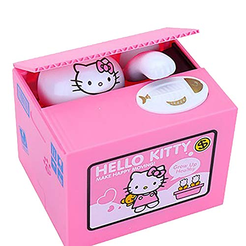 The New Hello Kitty Piggy Bank Coin Money Box