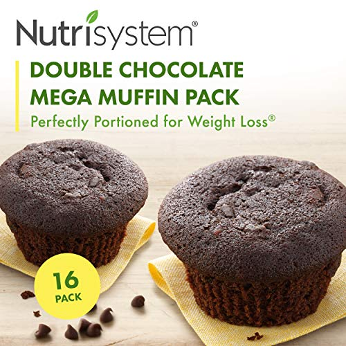 - Nutrisystem ® Double Chocolate Mega Muffin-16 pack...
