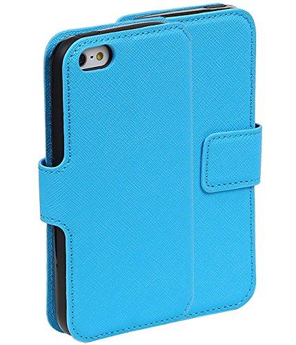 MobileFashion HM Book Cases pour Iphone 5 Portefeuille Case Cover Booktype avec Slots pour cartes et support
