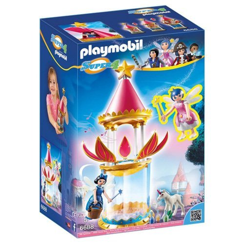 Playmobil Super 4 Enchanted Island Fairy Castle 6688