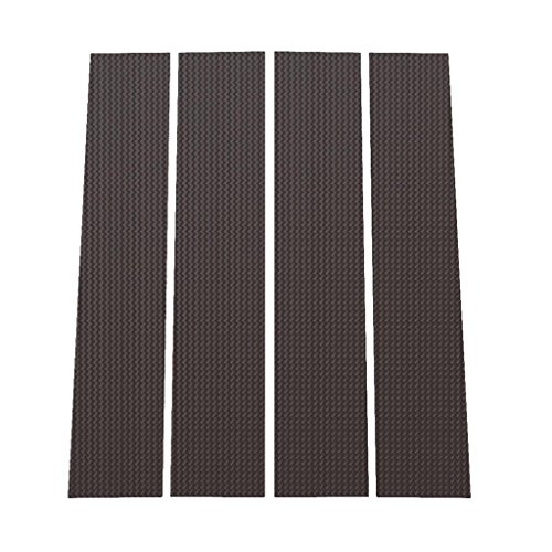 Carbon Fiber Pillars (Carbon Fiber Pillar Post Trim Cover fits: 2004-2014 Ford F150 All Models - Ferreus Industries - PIL-004-CF)