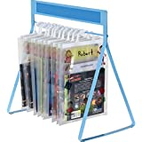 Really Good Stuff Store More Sturdy Hang-Up Totes Rack