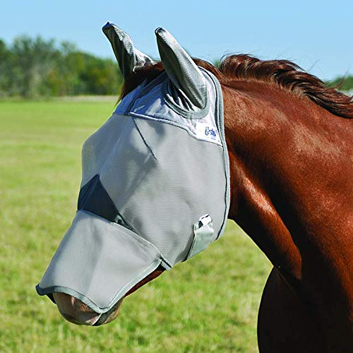 Crusader Fly Mask Long Nose with Ears