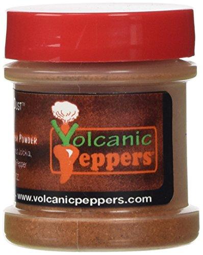 UPC 854343005051, Volcano Dust 3 - Smoked Bhut Jolokia (Ghost), 7 Pot and Scorpion Pepper Powder - Super Hot