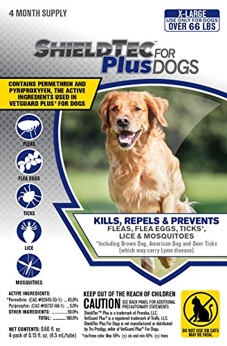 ShieldTec (4-dose) (X-LARGE DOG 66+ lbs)