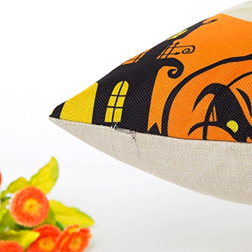 Pillow Case Neartime Halloween Sofa Bed Home Decor Pillow Case Cushion Cover (Free, D) by NEARTIME (Image #3)