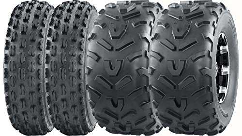 Set 4 WANDA Sport ATV tires 22x7-10 22x7x10 Front & 22x11-10 22x11x10 Rear