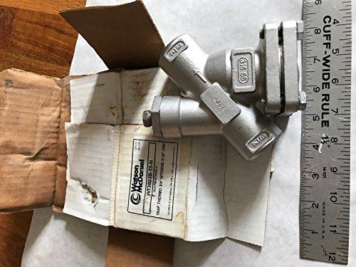 3/4'' Watson McDaniel 3003S LDP,316SS,WT3003S-13-N Thermostatic Steam Trap,EF by Watson McDaniel