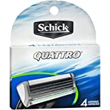 Schick Quattro Refil 4ct Size 4ct Schick Quattro Razor Refills