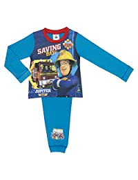 Fireman Sam Boys Pyjamas Sizes 18 months - 5 years