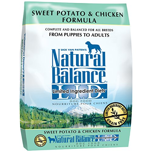 Natural Balance L.I.D. Limited Ingredient Diets Sweet Potato & Chicken Formula Dry Dog Food, 13-Pound