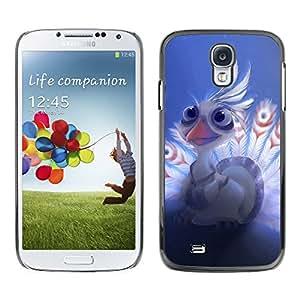 Caucho caso de Shell duro de la cubierta de accesorios de protección BY RAYDREAMMM - Samsung Galaxy S4 - Bebé lindo del Águila
