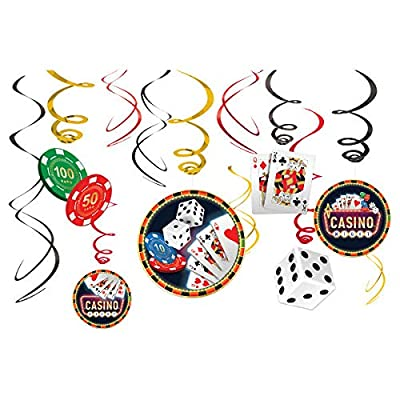 Casino Value Pack Party Swirl Decorating Kit: Toys & Games