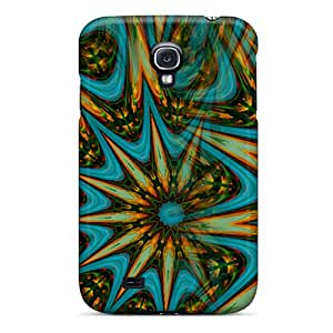 Hot Tpye Green Faery Mandala Case Cover For Galaxy S4