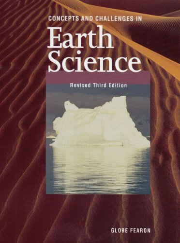 GF CONCEPTS AND CHALLENGES EARTH SCIENCE SE REVISED THIRD EDITION       1998C.