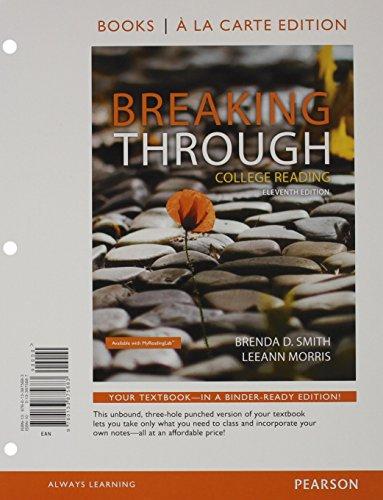 Breaking Through (Looseleaf)