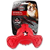 AFP Virtually Indestructible UFO Durable Toy Red