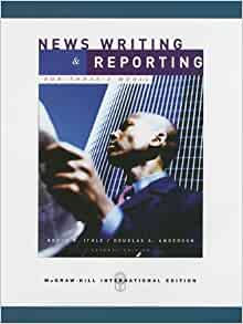 News reporting and writing amazon