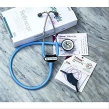 3M Littmann Cardiology III Stethoscope, Phthalate-Free, Black Tube, (3128)