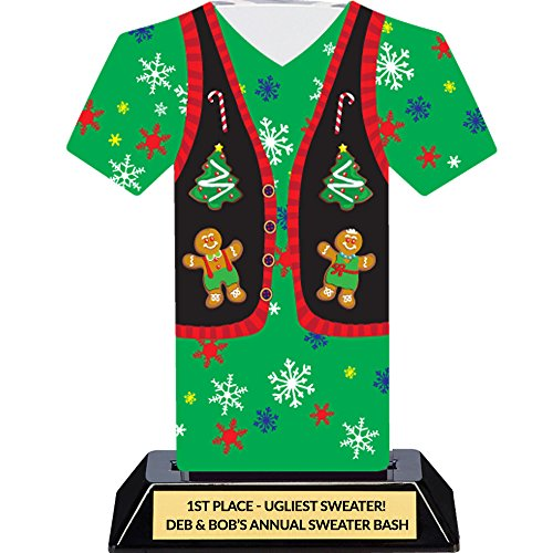 er Trophy - Tacky Sweater Party Award ()