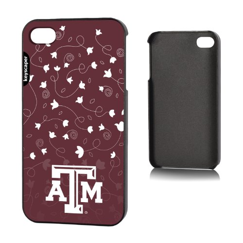 Texas A&M Aggies iPhone 4 & iPhone 4s Slim Case officially licensed by Texas A&M University for the Apple iPhone 4/4s by keyscaper® Sleek Light Durable Precise Rigid