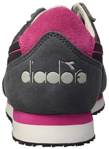 Femme Acciaio Sneaker grigio Grigio Basses Diadora K W run Gris AqzwX6Pn
