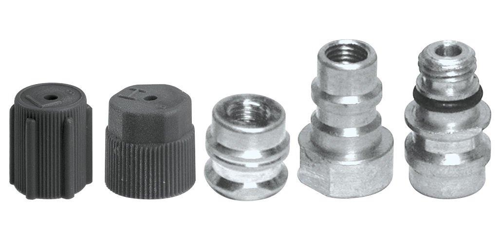 Interdynamics Certified A/C Pro VA-LH10 R-134a Retrofit Parts Kit (3 Adaptors)