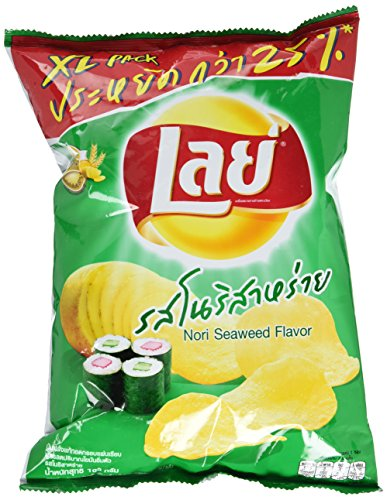 Frito Lay-Thailand Japanese Sushi Seaweed, 115 Gram