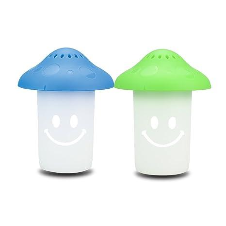 iebiyo 2pcs Happy Mushroom microondas y horno limpiador ...