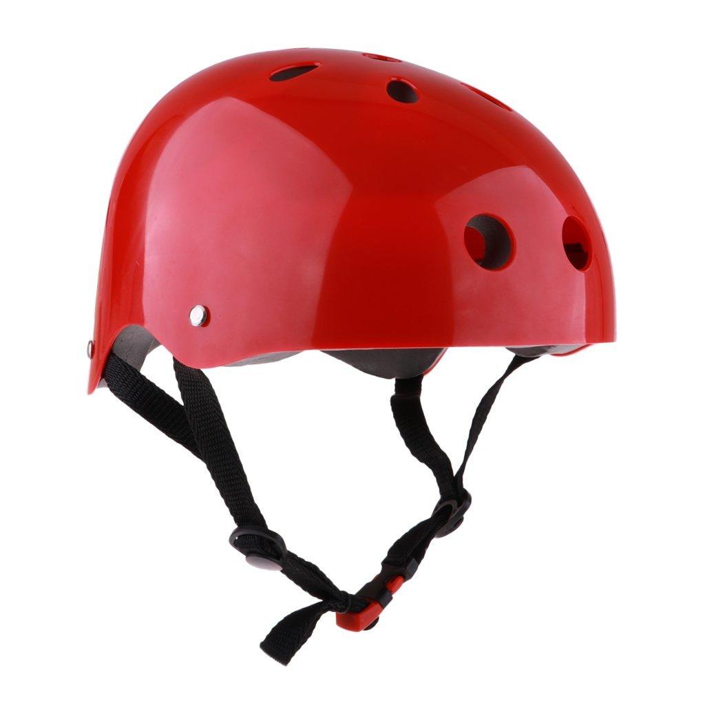 MagiDeal Adjustable Safety Helmet Protection Helmet Rescue Water Sports Rafting Kayak Sailing Surf Cap
