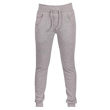 Pantalones de chándal para Mujer de Talle Grande con Cintura ...