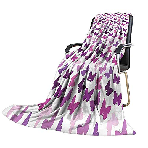 """Big datastore Blanket Butterfly,Butterfly Carved Wing Summer Quilt Comforter Size:50""""x60"""""""