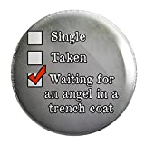Geek Details single taken Waiting for an Angel in a Trench Coat 2.25